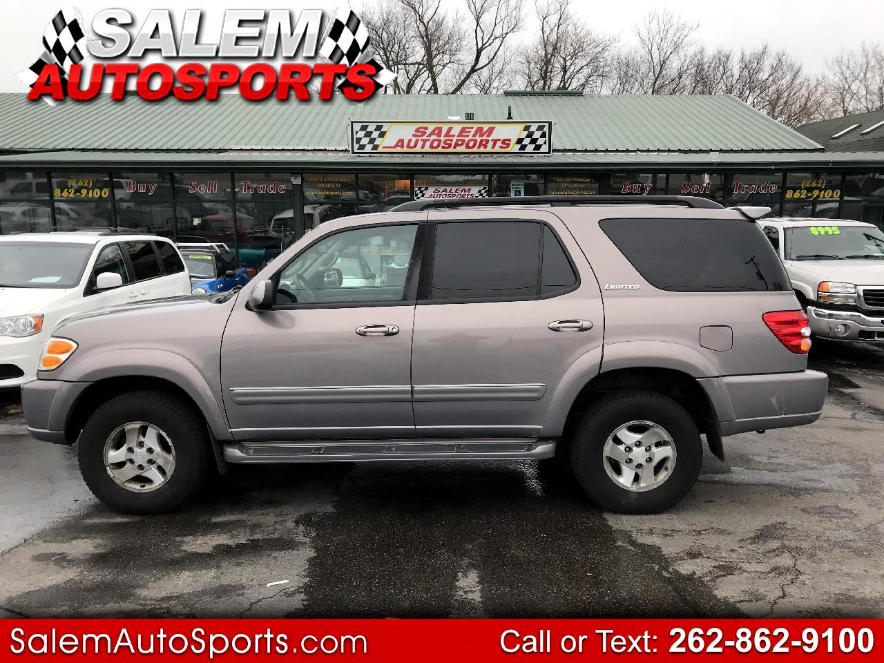 2002 Toyota Sequoia 4dr Limited 4WD (Natl)