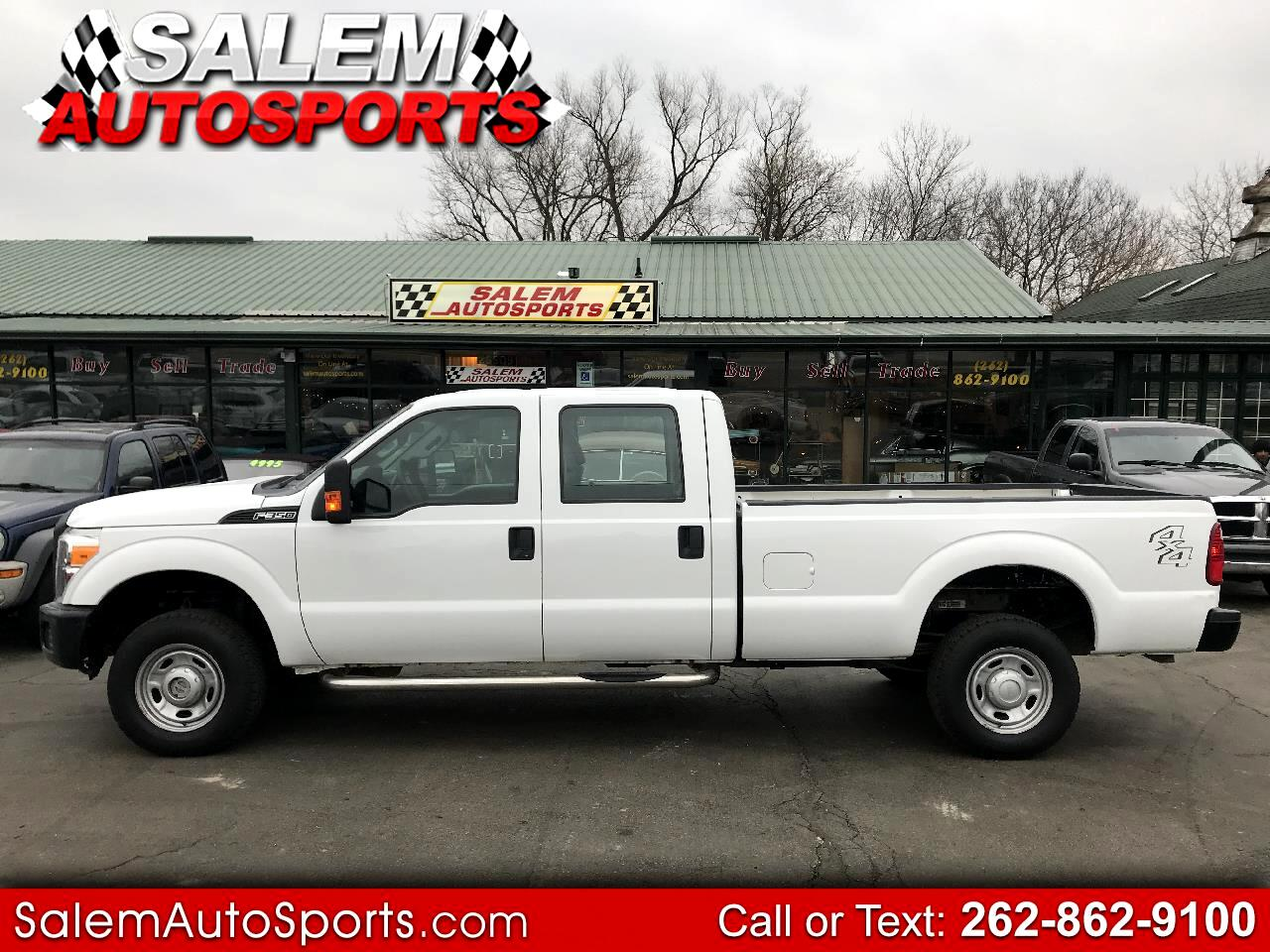 "2013 Ford Super Duty F-350 SRW 4WD Crew Cab 156"" XL"