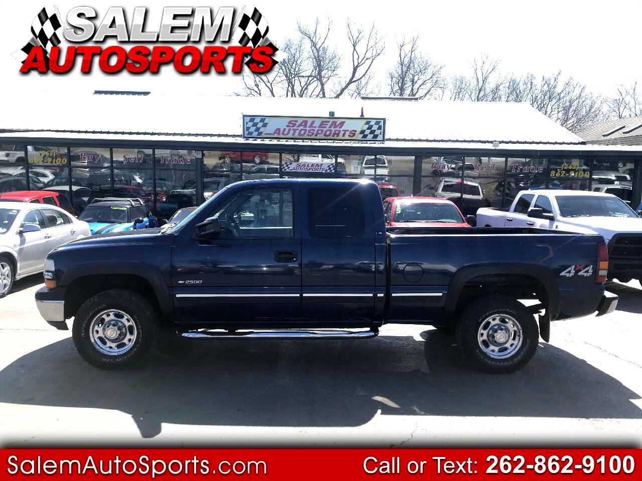 2000 Chevrolet Silverado 2500 HD 4dr Ext Cab 143.5