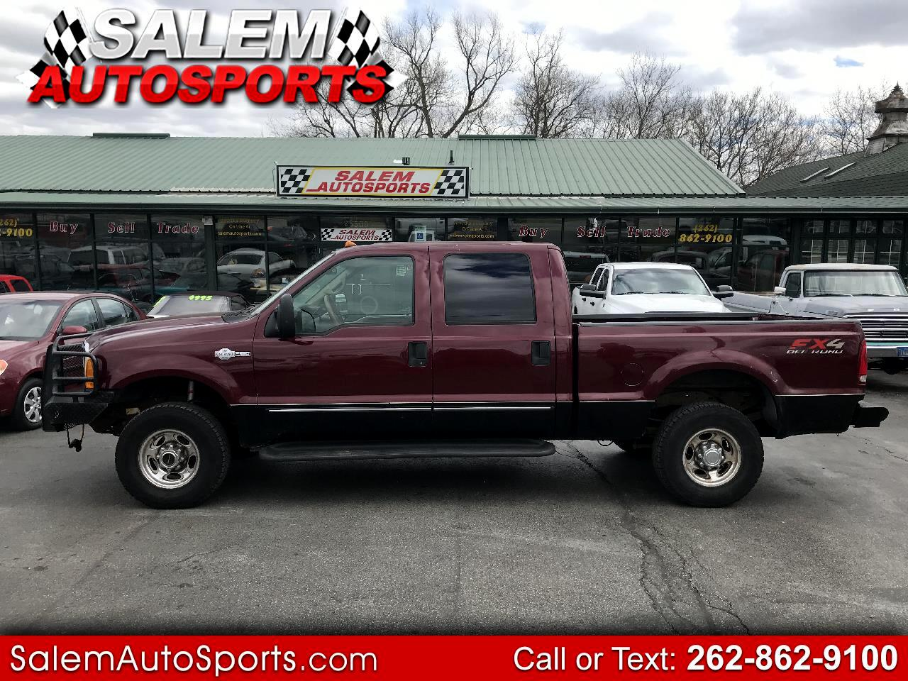 "2000 Ford Super Duty F-250 Crew Cab 156"" XLT 4WD"