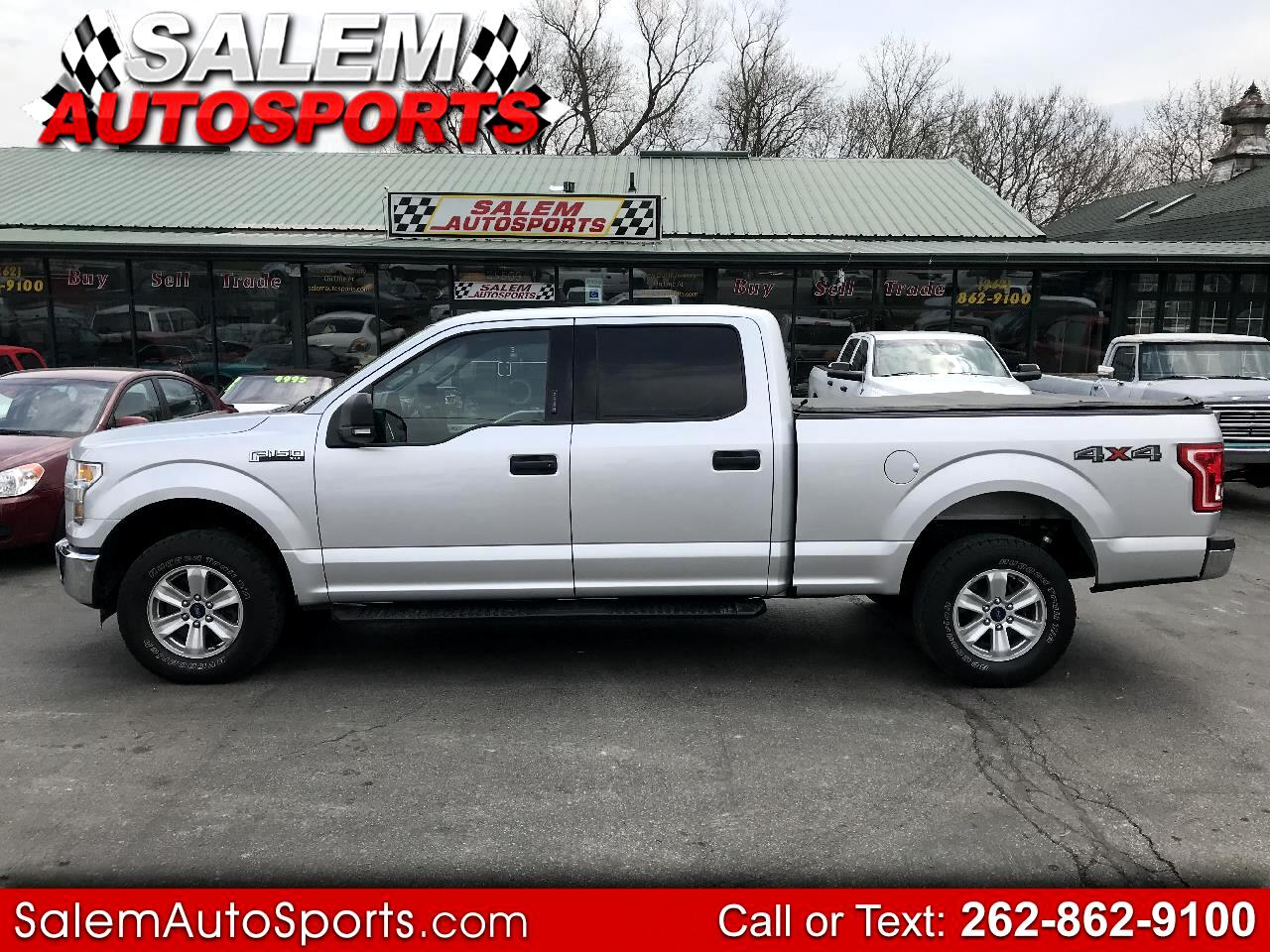 "Ford F-150 4WD SuperCrew 157"" XLT w/HD Payload Pkg 2015"