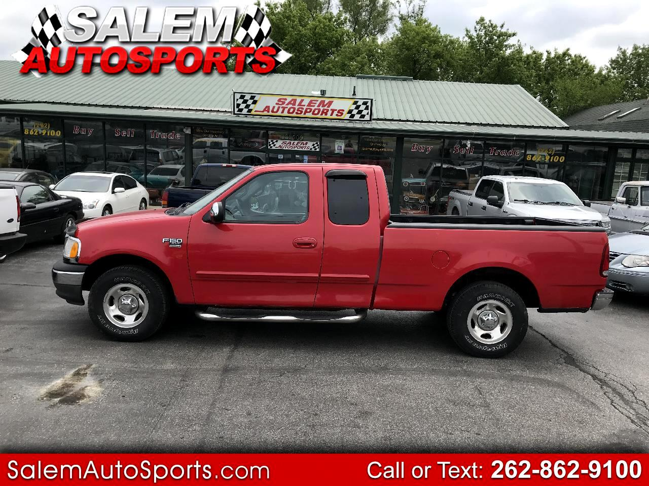 "Ford F-150 Supercab 139"" XLT 2002"