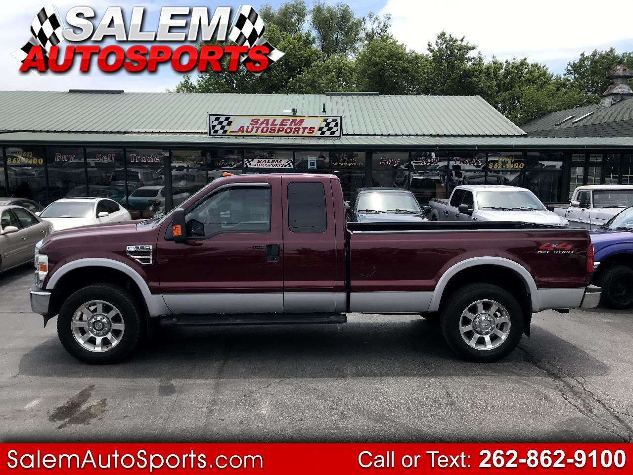 "2008 Ford Super Duty F-250 SRW 4WD SuperCab 142"" Lariat"