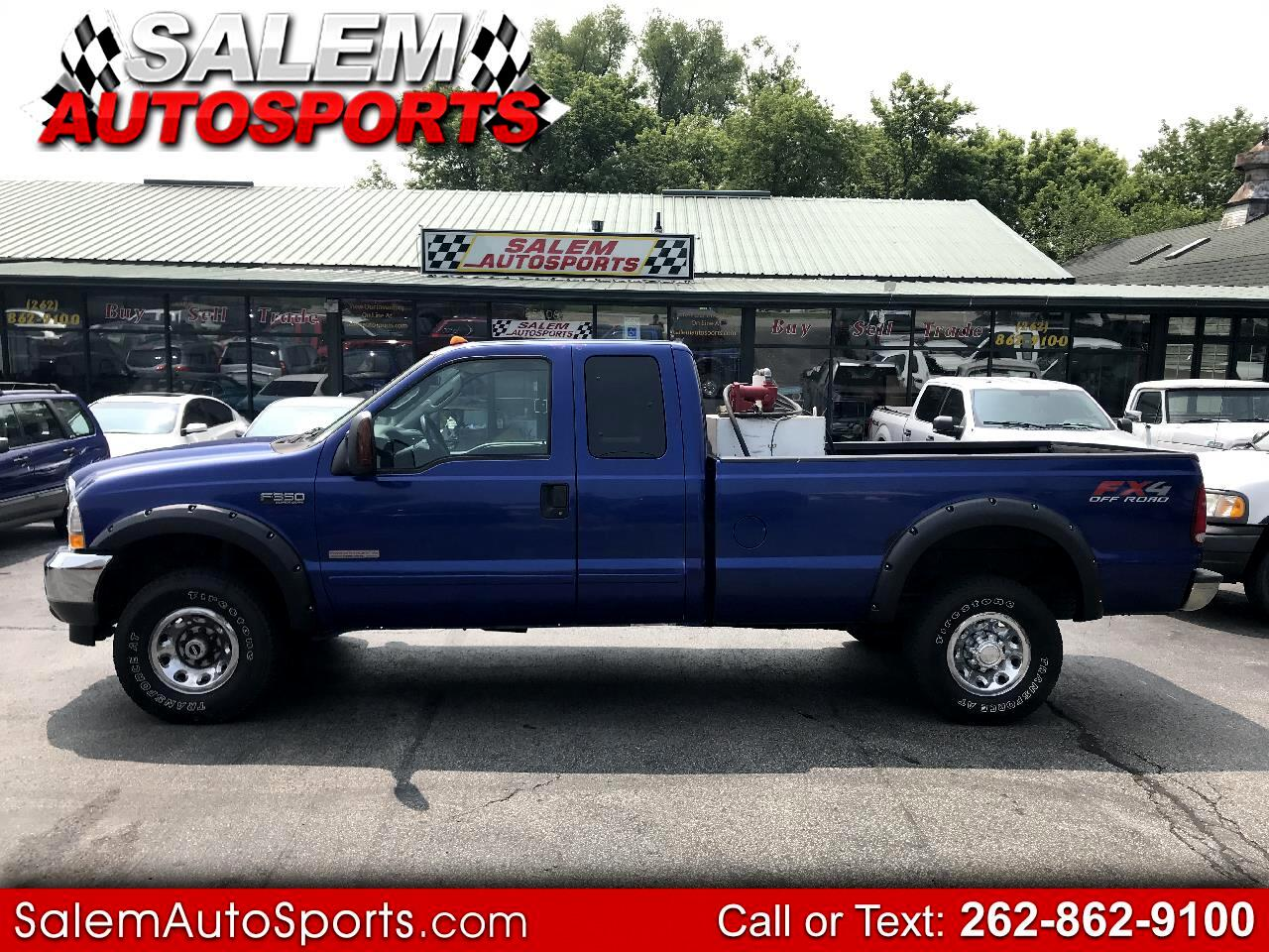 "2003 Ford Super Duty F-350 SRW Supercab 142"" XLT 4WD"
