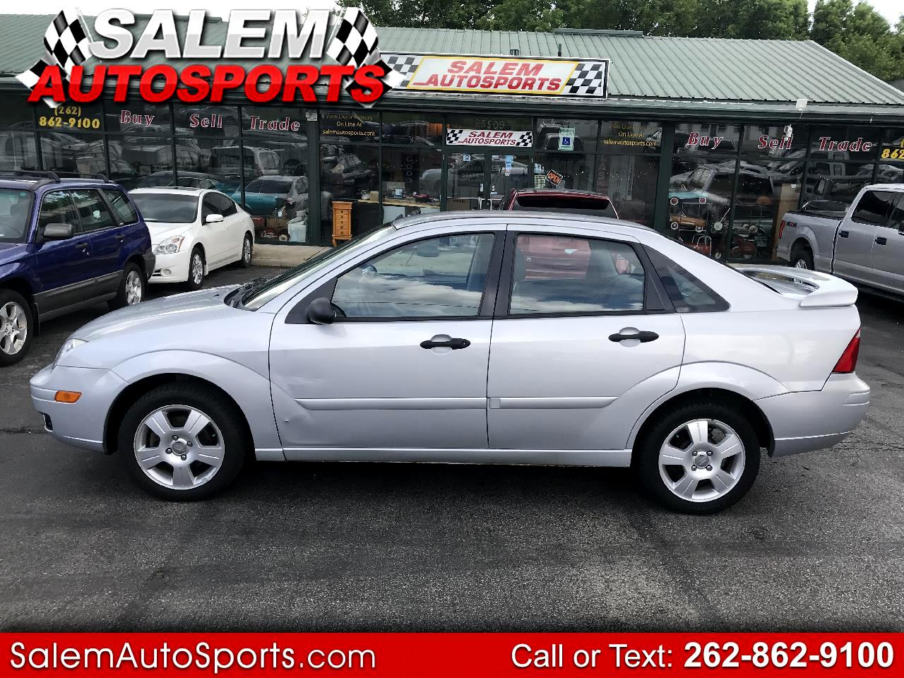2007 Ford Focus 4dr Sdn SES