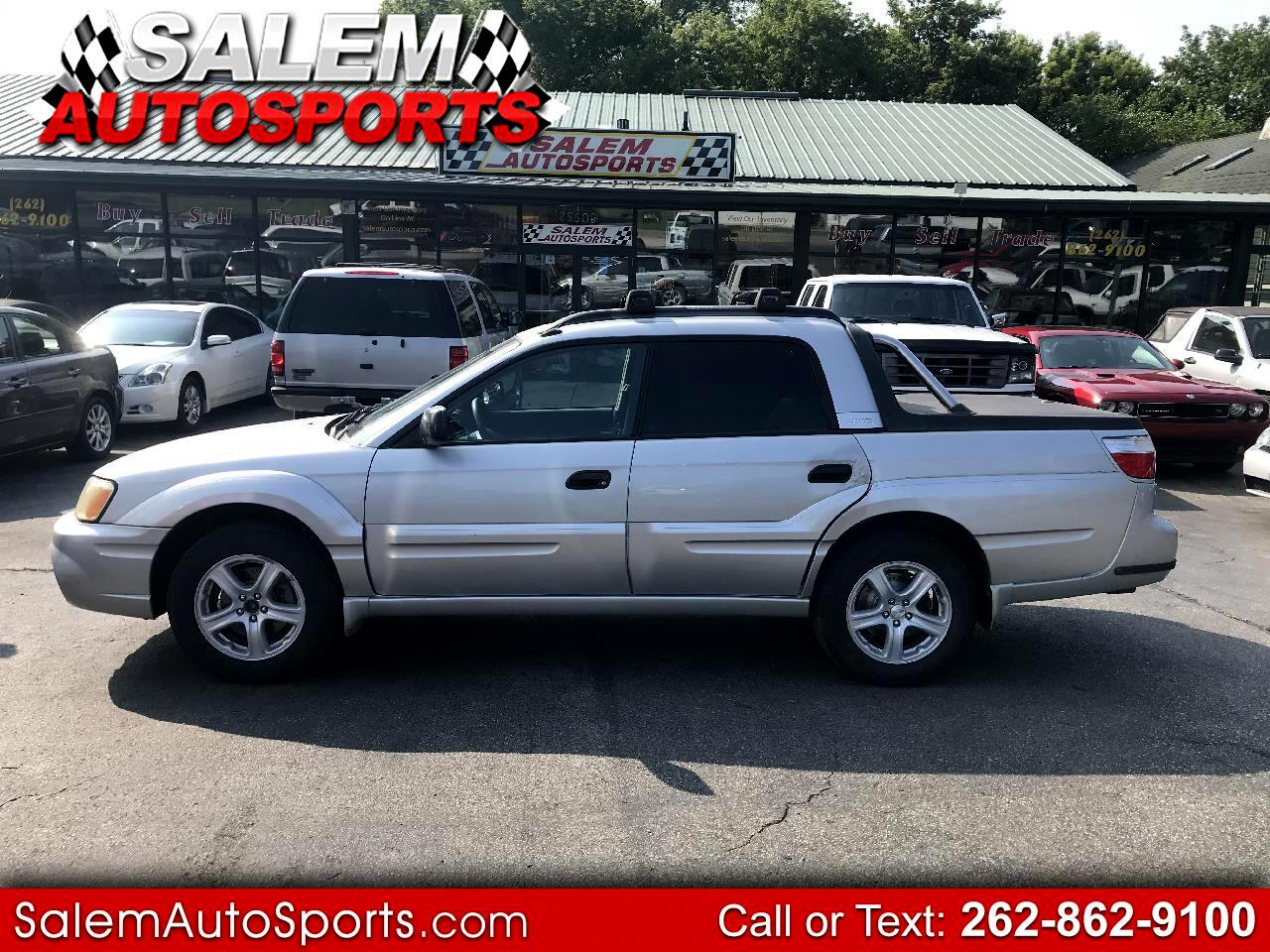 Subaru Baja 4dr Sport Manual 2006
