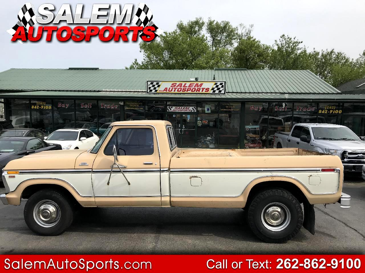 1977 Ford F350 Camper Special