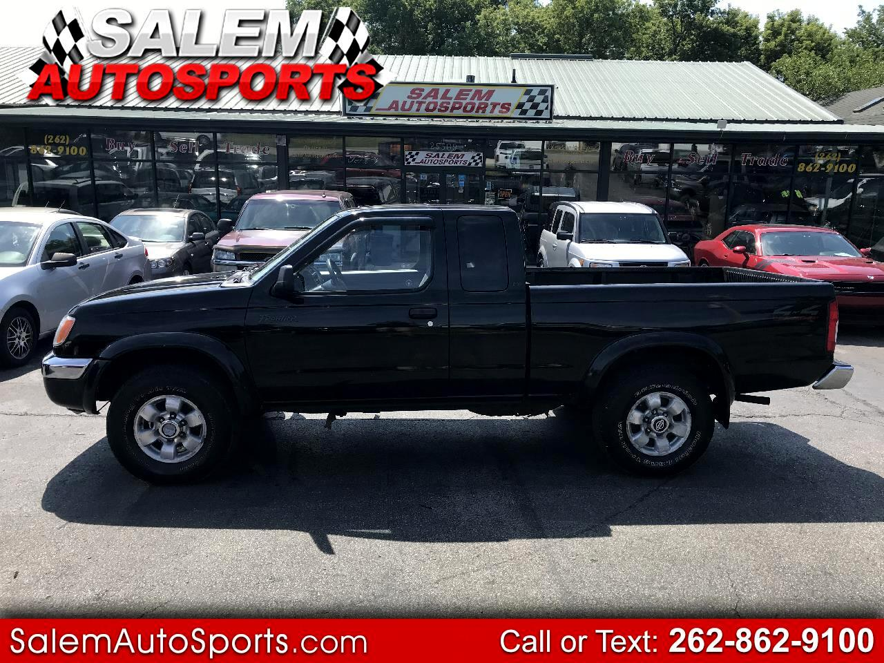 1999 Nissan Frontier 4WD XE King Cab V6 Auto
