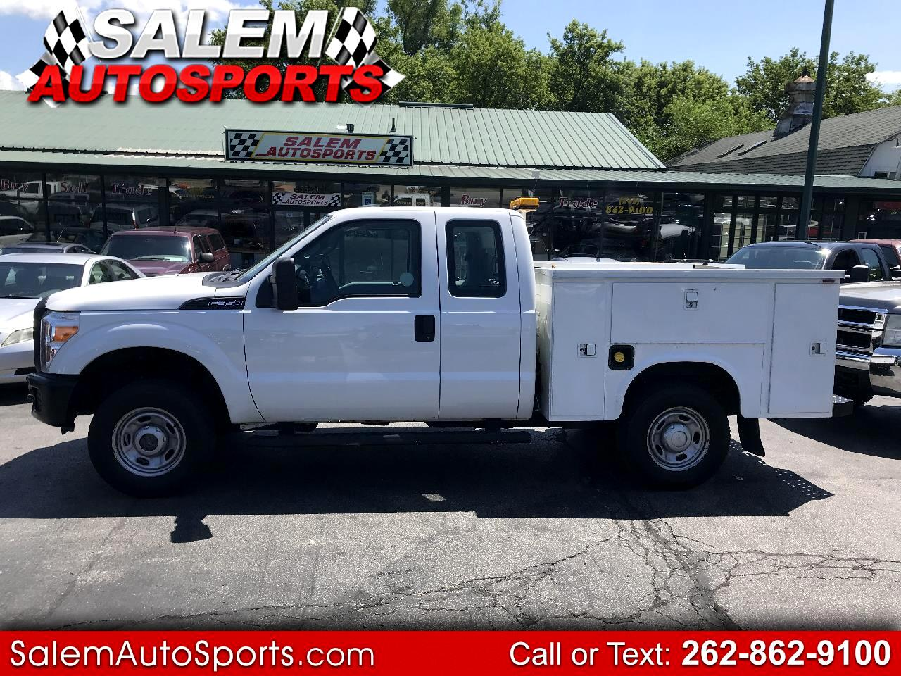 2012 Ford Super Duty F-350 SRW 4WD SuperCab 142