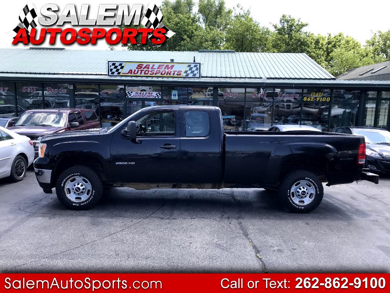 "2011 GMC Sierra 2500HD 2WD Ext Cab 158.2"" Work Truck"