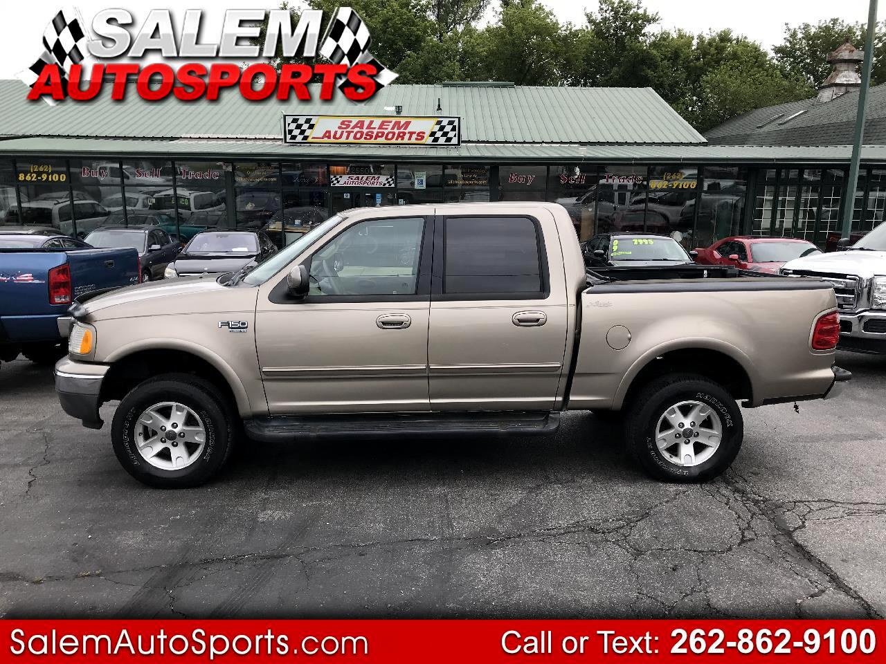 "Ford F-150 SuperCrew 139"" Lariat 4WD 2002"