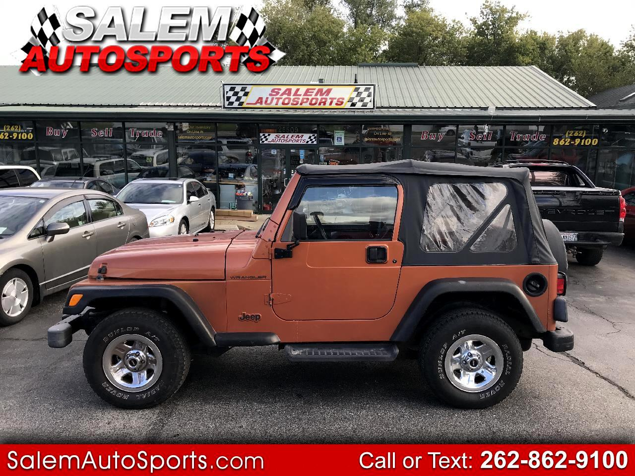 Jeep Wrangler 2dr SE 2001