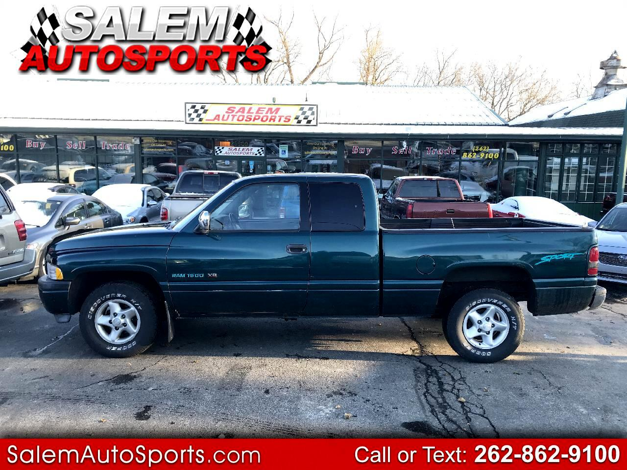 "Dodge Ram 1500 Club Cab 139"" WB 1997"
