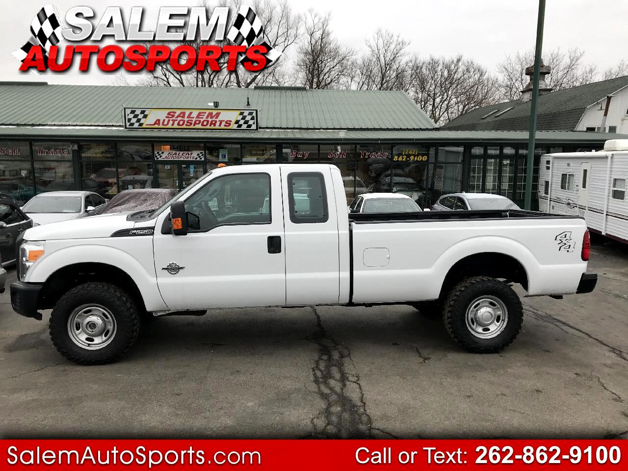 "Ford Super Duty F-250 SRW 4WD SuperCab 142"" XL 2015"