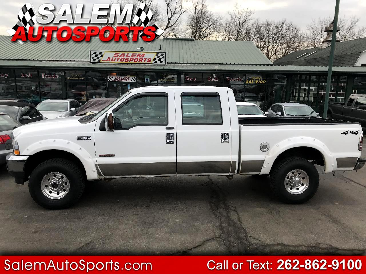 "Ford Super Duty F-250 Crew Cab 156"" XLT 4WD 2004"