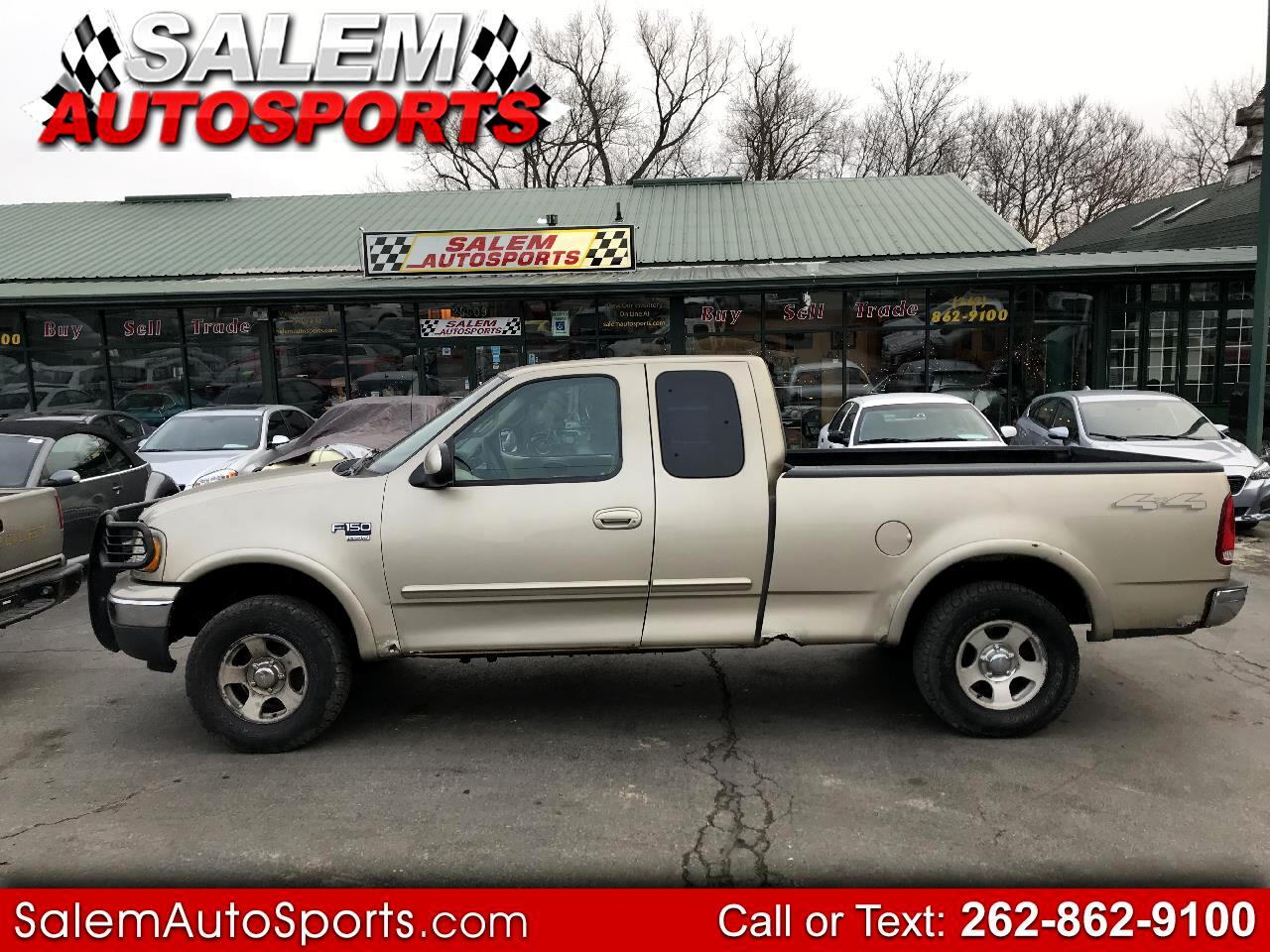 "Ford F-150 Supercab 139"" 4WD XL 2000"