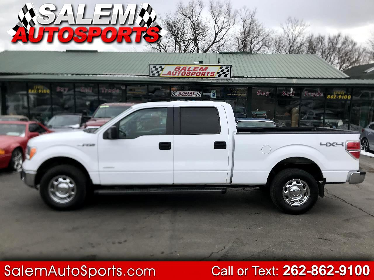 """Ford F-150 4WD SuperCrew 157"""" XLT w/HD Payload Pkg 2014"""