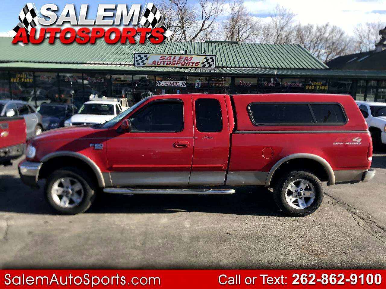 """Ford F-150 Supercab 139"""" Lariat 4WD 2002"""