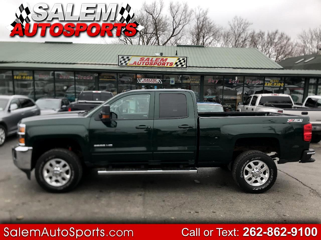 "Chevrolet Silverado 2500HD Built After Aug 14 4WD Double Cab 144.2"" LT 2015"