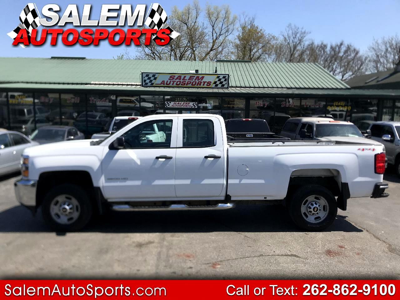 "Chevrolet Silverado 2500HD 4WD Double Cab 158.1"" Work Truck 2016"