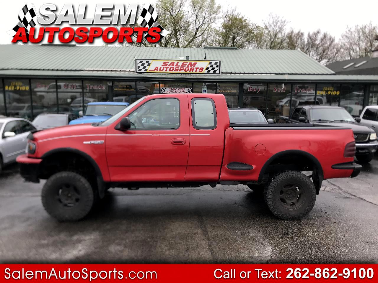 """Ford F-150 Supercab Flareside 139"""" 4WD Lariat 1997"""