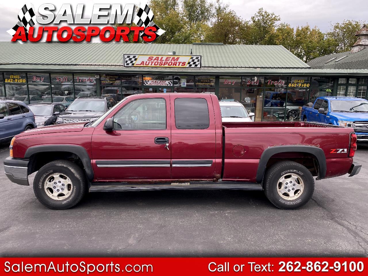 """Chevrolet Silverado 1500 Ext Cab 143.5"""" WB 4WD 2004"""