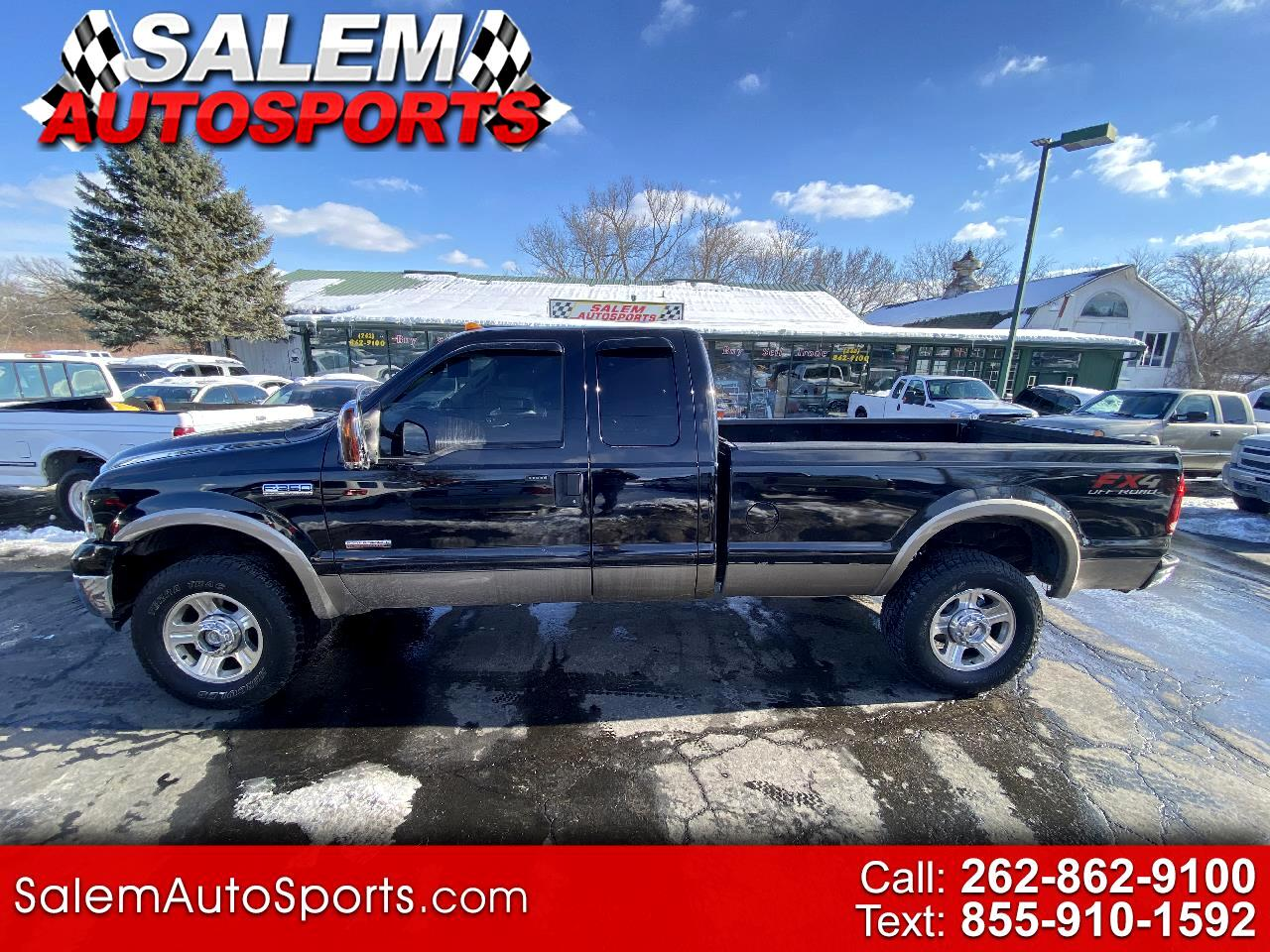 "Ford Super Duty F-350 SRW 4WD SuperCab 142"" Highline 2007"