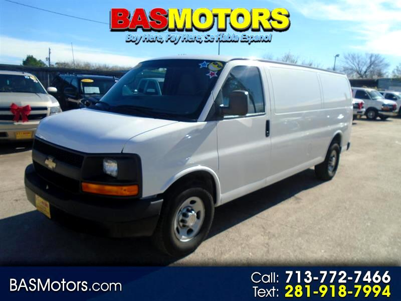 2013 Chevrolet Express 3500 Cargo Extended