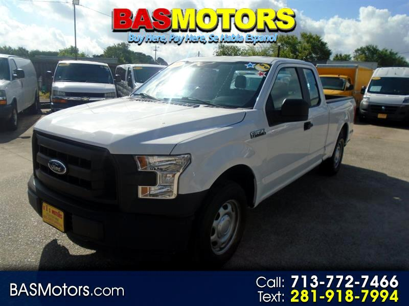 2015 Ford F-150 XL SuperCab 8-ft. 2WD