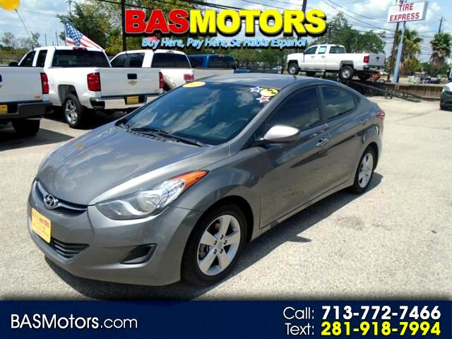buy here pay here 2013 hyundai elantra gls m t for sale in houston tx 77074 bas motors. Black Bedroom Furniture Sets. Home Design Ideas