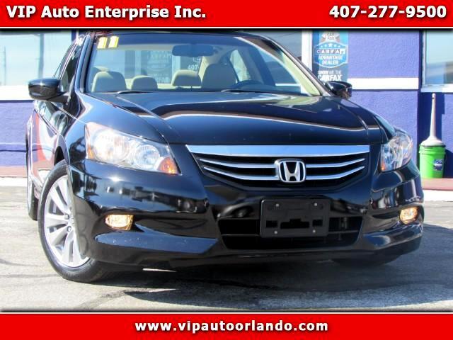 2011 Honda Accord EX-L V-6 Sedan AT with Navigation