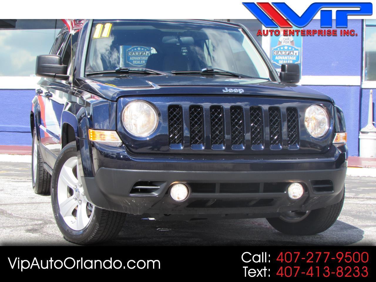 2011 Jeep Patriot 2WD LATITUDE