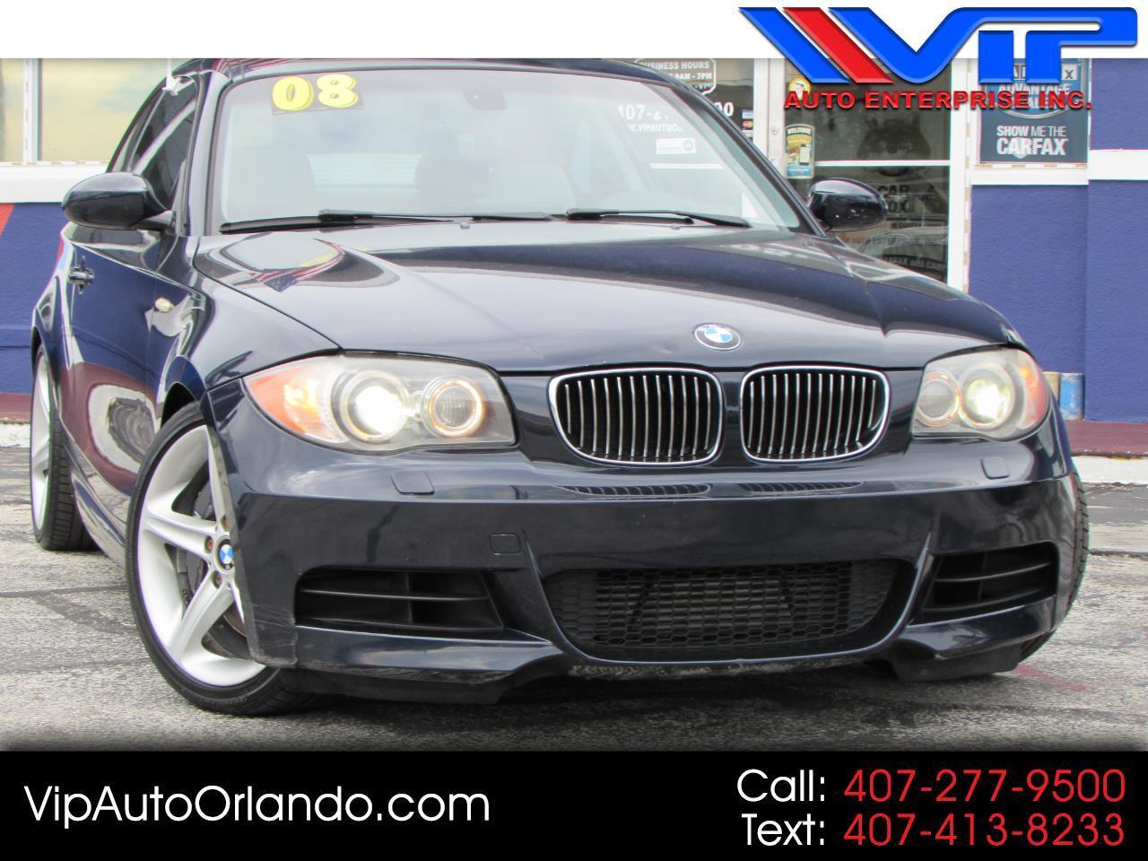 2008 BMW 1 Series 2dr Cpe 135i