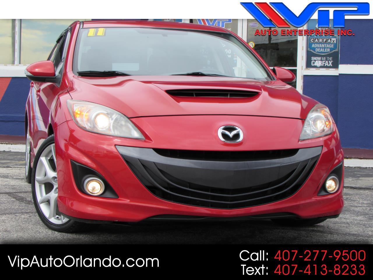 2011 Mazda MAZDA3 5dr HB Man Mazdaspeed3 Sport