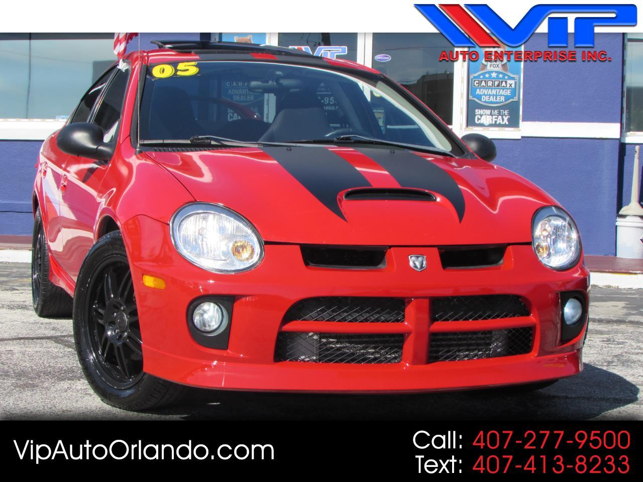 2005 Dodge Neon 4dr Sdn SRT4