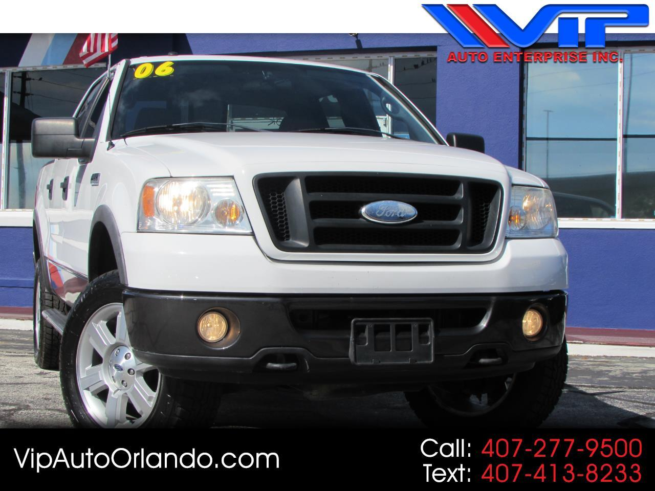 "2006 Ford F-150 SuperCrew 150"" FX4 4WD"