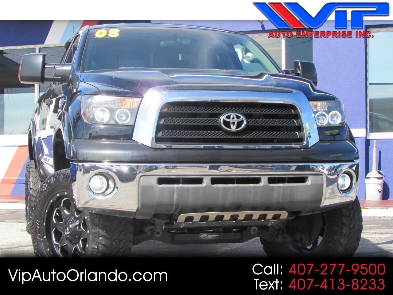 2008 Toyota Tundra 4WD Truck Dbl 5.7L V8 6-Spd AT SR5 (Natl