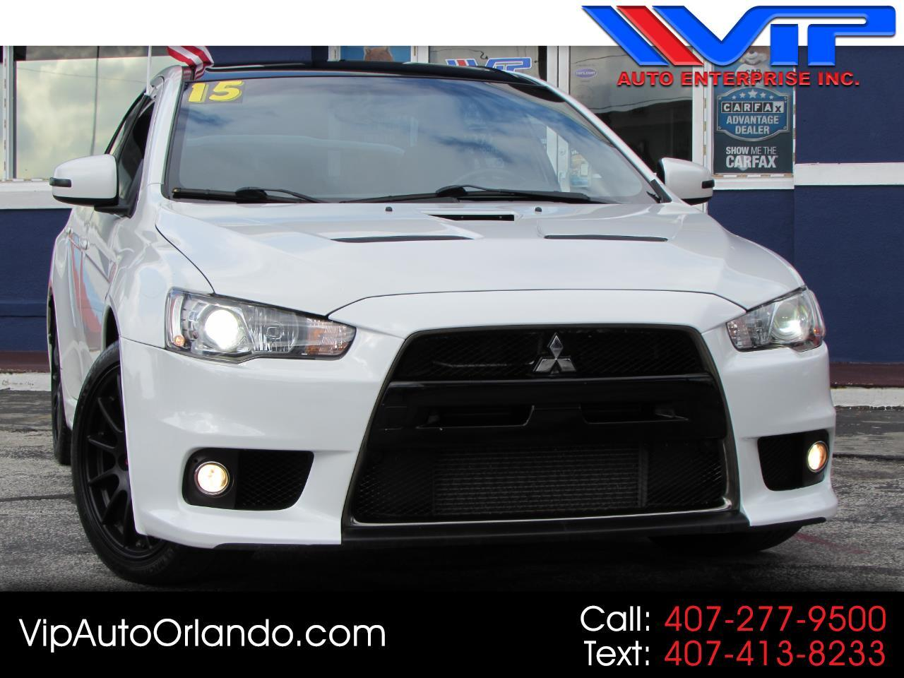 2015 Mitsubishi Lancer Evolution 4dr Sdn Man Final Edition