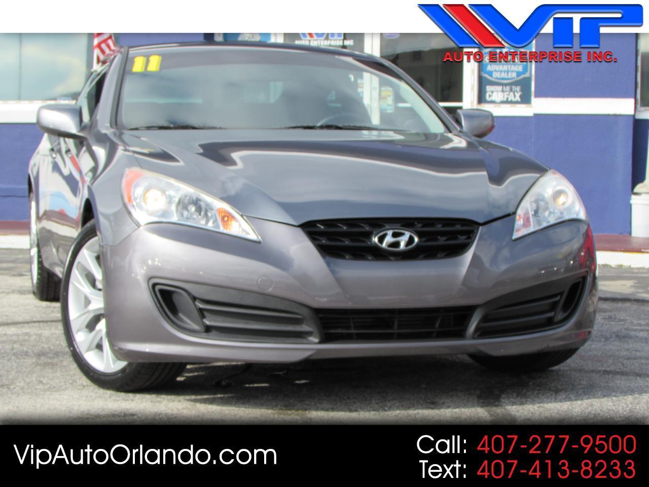 2011 Hyundai Genesis Coupe 2dr 2.0T R-spec Man