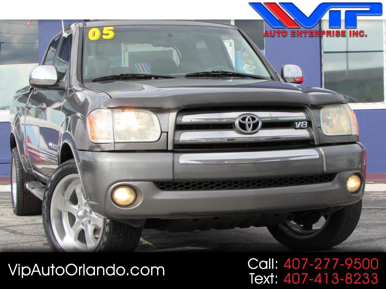 2005 Toyota Tundra DoubleCab V8 Limited (Natl)