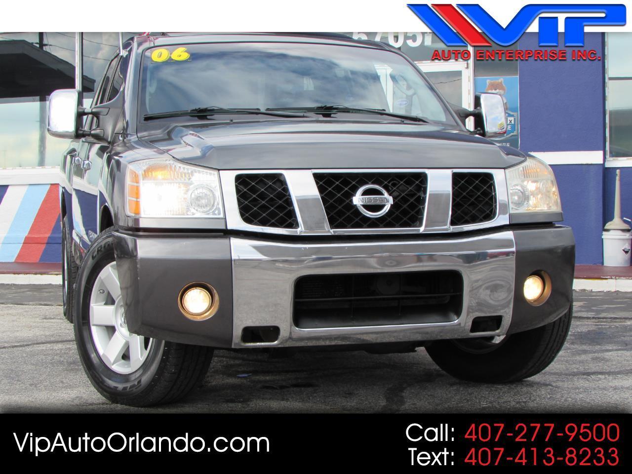 2006 Nissan Titan LE Crew Cab 2WD FFV