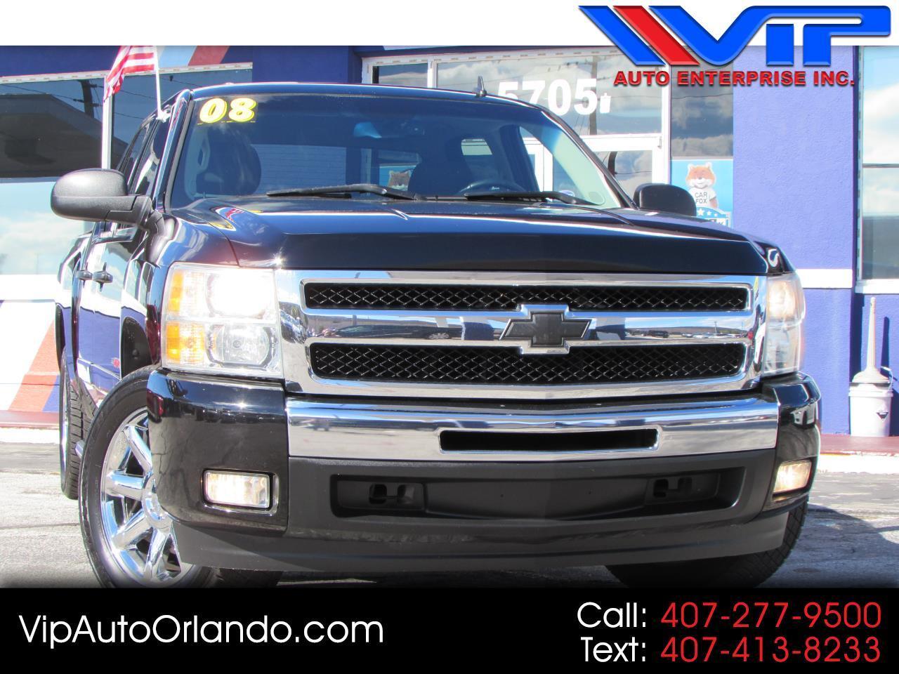 """2008 Chevrolet Silverado 1500 2WD Crew Cab 143.5"""" LT w/1LT"""