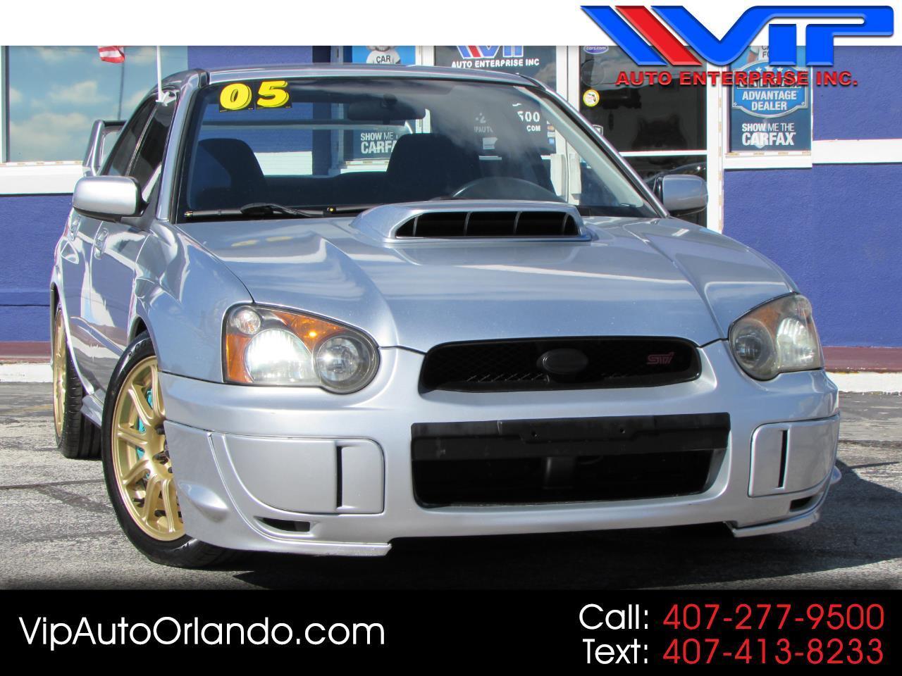 2005 Subaru Impreza Sedan (Natl) 2.5 WRX STi w/Gold Wheels