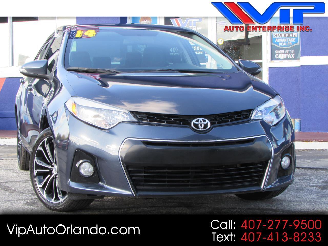 2014 Toyota Corolla 4dr Sdn Auto S Special Edition (Natl)