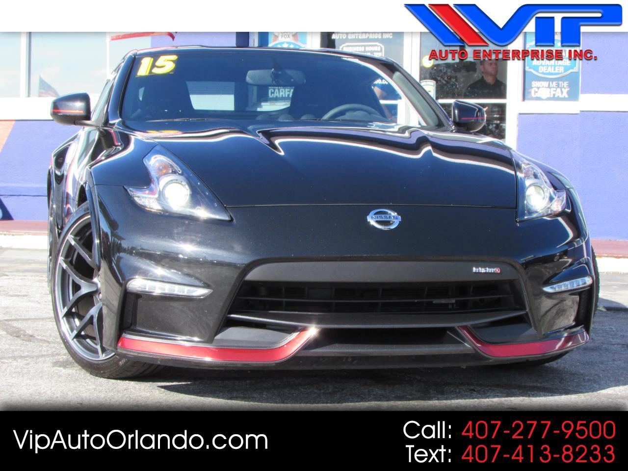 2015 Nissan 370Z 2dr Cpe Manual NISMO Tech