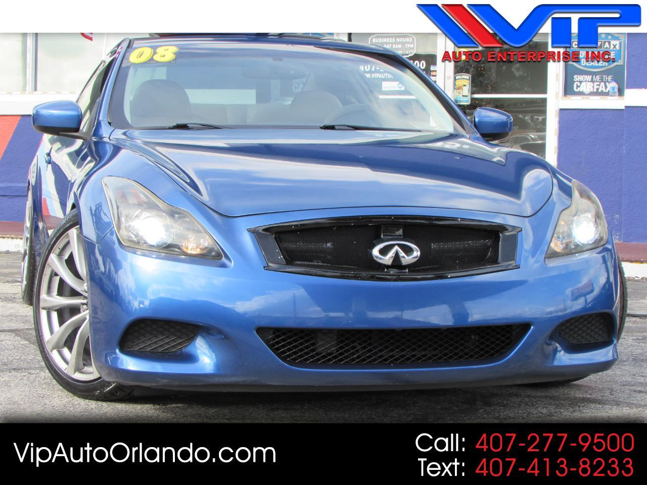 2008 Infiniti G37 Coupe 2dr Sport S