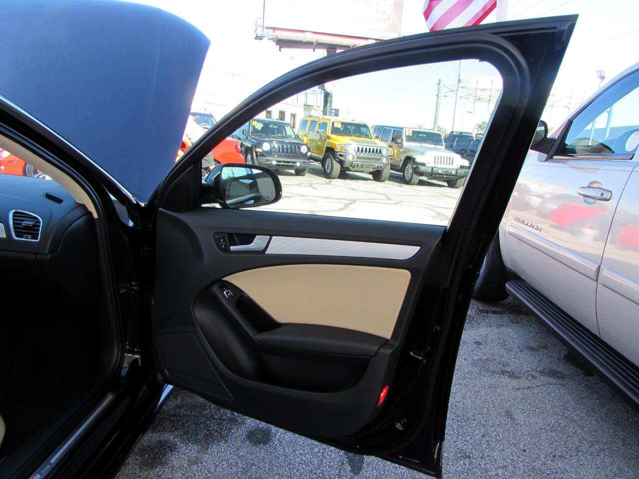 2014 Audi A4 4dr Sdn CVT FrontTrak 2.0T Premium