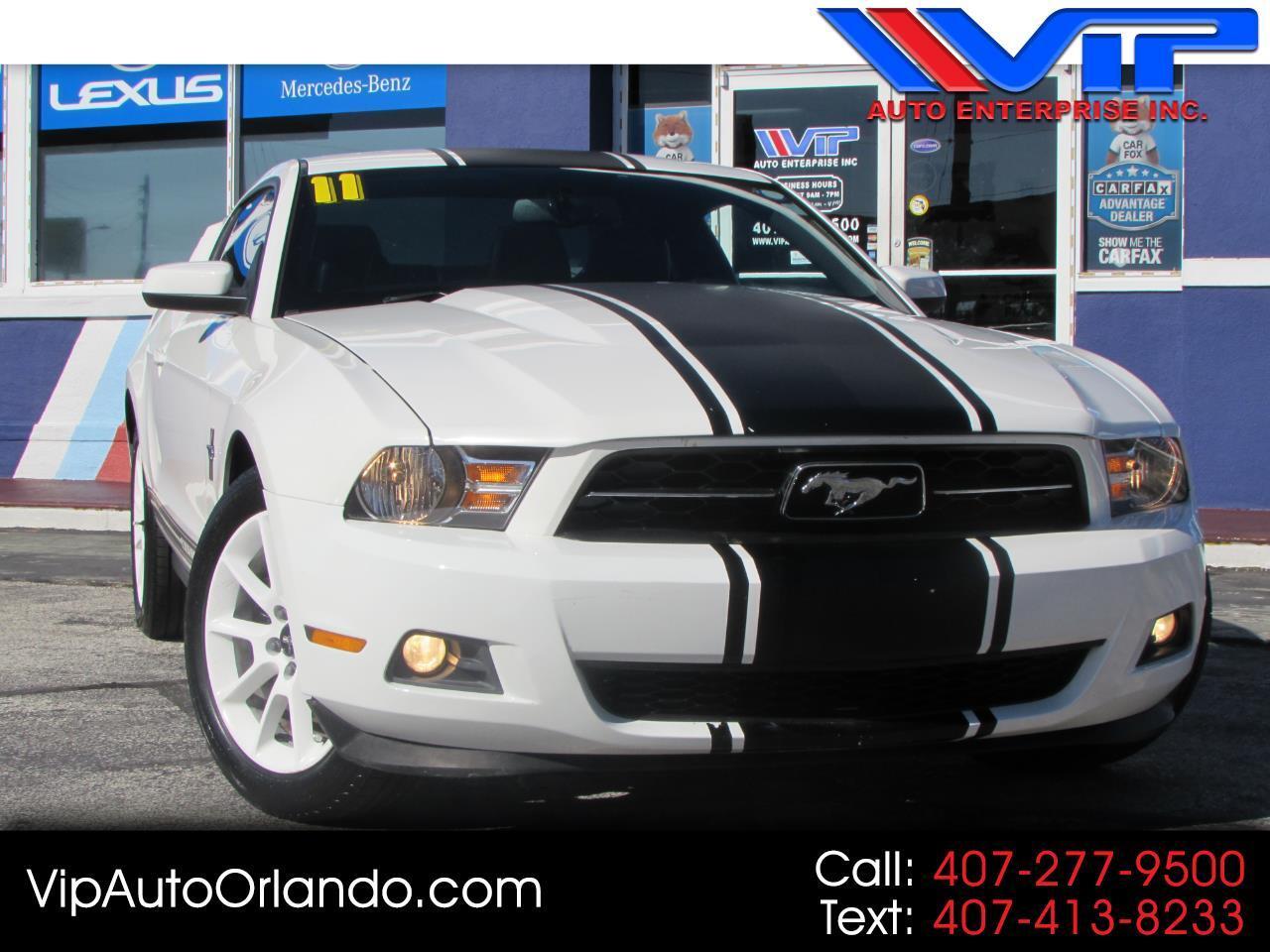 2011 Ford Mustang 2dr Cpe V6 Premium