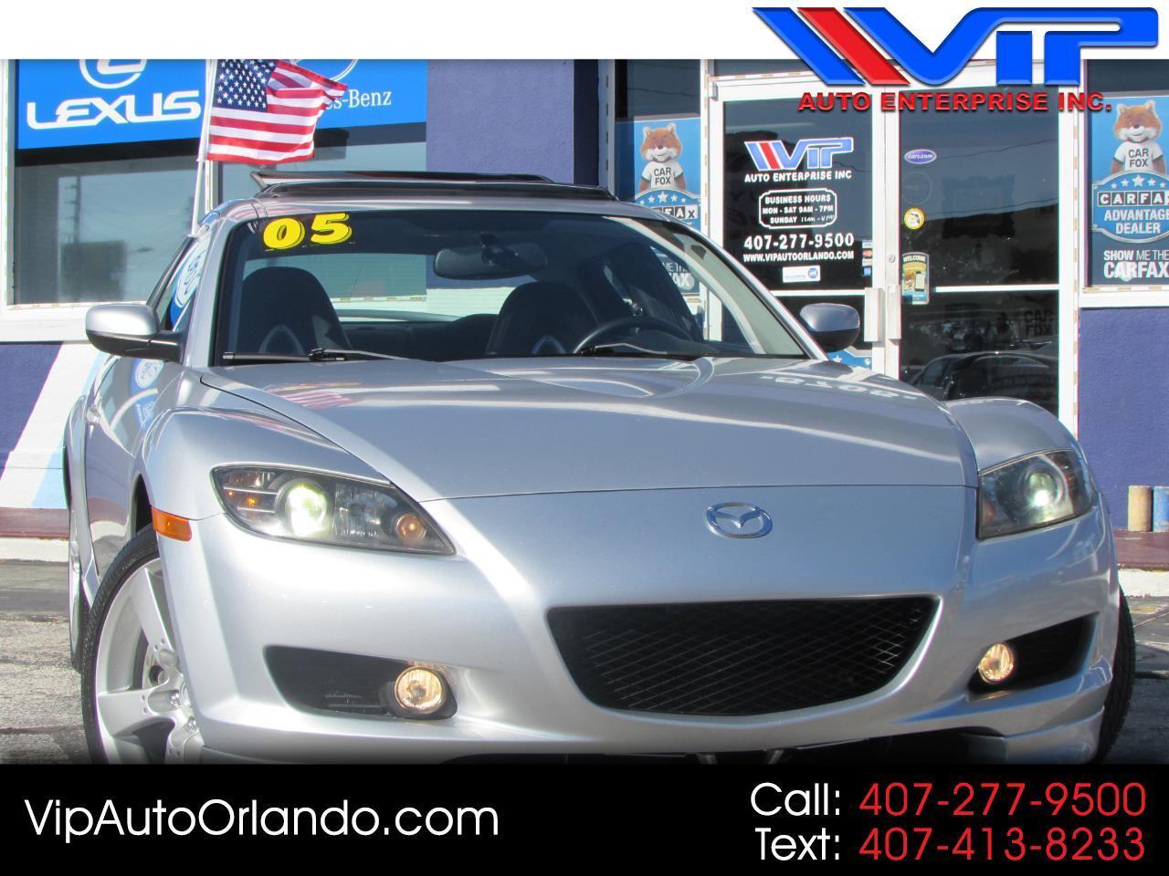 2005 Mazda RX-8 4dr Cpe 6-Spd Manual