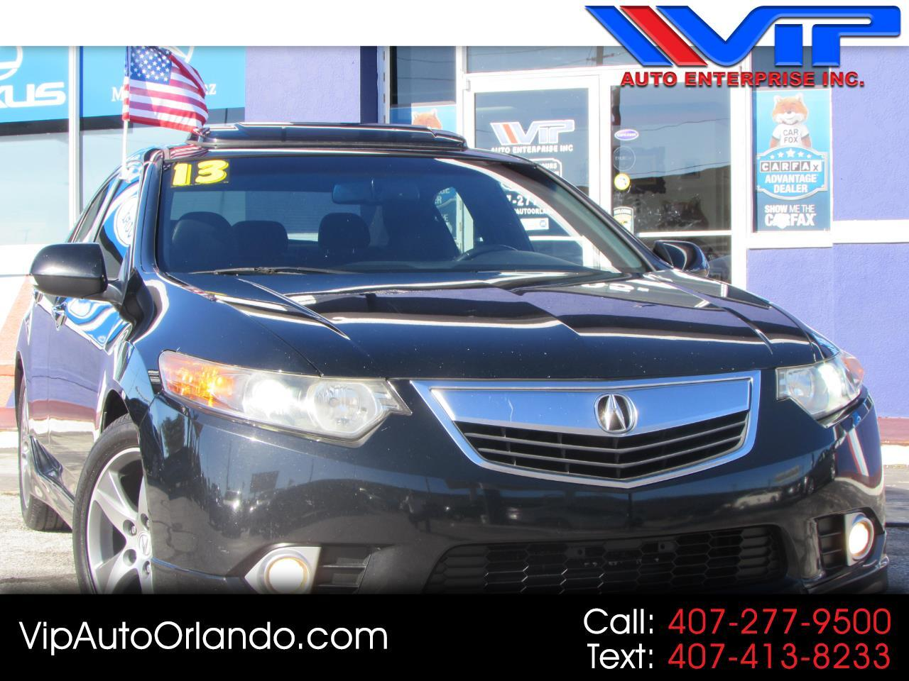 2013 Acura TSX 4dr Sdn I4 Man Special Edition